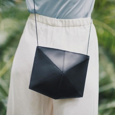 Zand-erover miimalistic bag ecofriendly handcrafted