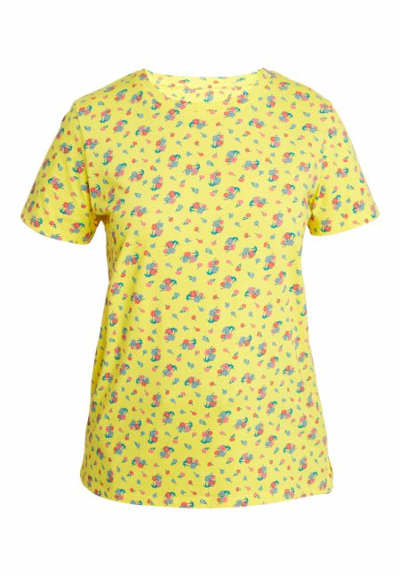 People Tree Organic Cotton Floral Shirt fairtrade