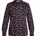 People Tree V&A poppy shirt