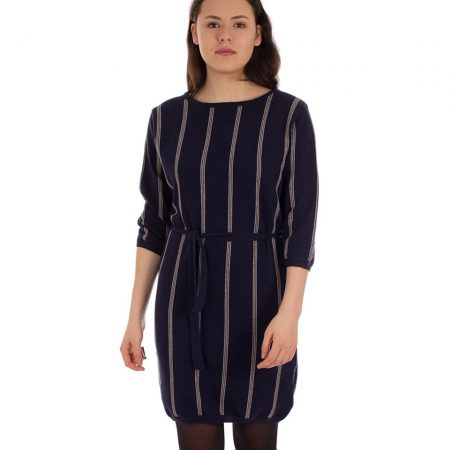 Oy-di Dress Bo stripes dark blue
