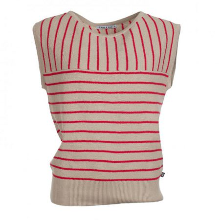 Froy&Dind Jasmine top stripes coral